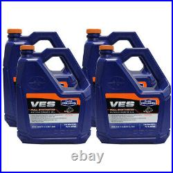 1 Case / 4 Gallons VES II Full Synthetic Gold 2-Cycle Engine Oil 2877883 Polaris