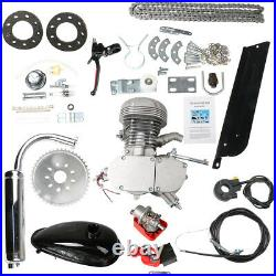 100cc Bicycle Motor Kit Bike Motorized 2 Stroke Petrol Gas Engine Full Set