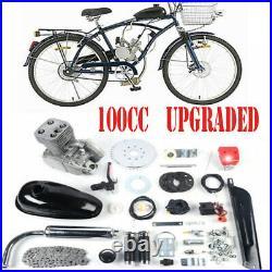 100cc Full Set Bicycle Engine Kit 2-Stroke Gas Motorized Motor Bike Modified US