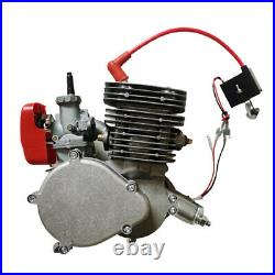 110cc 2-Stroke Bicycle Motor Kit Bike Motorized Petrol Gas Engine Full Set