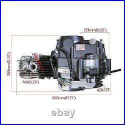 125CC 4Up Manual Clutch Dirt Bike Engine Motor Full Kit For Honda XR50 CRF50
