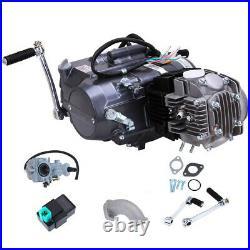 125cc 4Stroke Engine Motor Full Kit For Honda CRF50 CRF70 Pit Bike CT70 AIR COOL