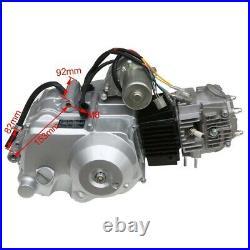 125cc Engine Motor Full Kit Semi Auto 3+1 Reverse Electric Start GoKart ATV Quad