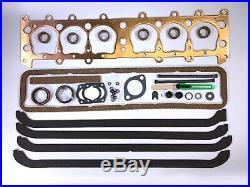 1937-1953 Chevy 216 235 Full Engine Gasket Set Copper Best Gasket