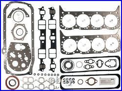 1987 Through 1995 GMC Chevy 5.7L 350 V8 TBI Engine Full Gasket Set Mahle 95-3418