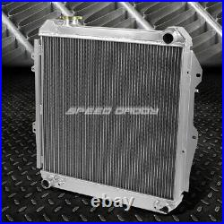 2-Row Full Aluminum Core Racing Radiator for 88-95 4Runner/Pickup V6 Engine 4WD
