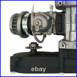 2 Stroke 47cc 49CC Engine Motor Full Kit For Mini Razor Dirt Bike 4 Wheeler Quad