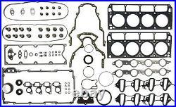 2002 2003 GM LS 4.8 5.3 Liter VIN T Engine Full Gasket Set Mahle 95-3561