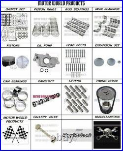 2005 2006 5.3 Full Engine rebuild kit Master Kit includes Camshaft