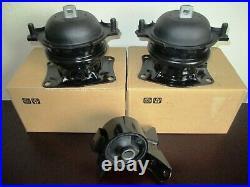 2009-2015 Full Set Of 3 Engine Mounts For Honda Pilot (3.5l, V6, Fwd)