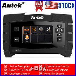 2020 Autek IFIX919 Full System OBD2 Diagnostic Scanner Engine ABS Oil EPB Reset