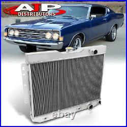 3-Core Aluminum Performance Radiator For 1959-1965 Chevrolet Bel Air Impala V8