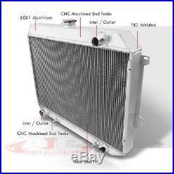 3-Core Full Aluminum Radiator For 1968-1973 Coronet Challenger Charger Satellite
