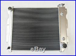 3 Rows Aluminum Radiator for 87-06 Jeep Wrangler TJ / YJ GM Chevy SBC V8 Engine