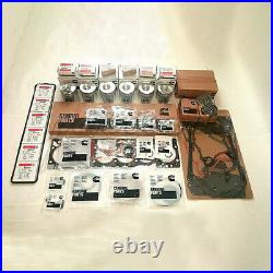 3902666 For Dodge Cummins Complete Kit Marine Bowl Piston 5.9l Diesel 12v 6bt
