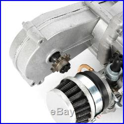 49cc 2 Stroke Engine Motor Full Kit Pull Start Fit Pocket Mini Dirt Bike ATV -US