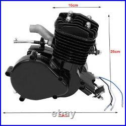 80cc 2-Stroke Bicycle Engine Kit Gas Motorized Motor Bike Modified Full Set US