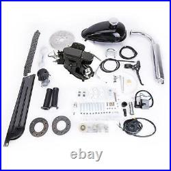80cc Full Set Bicycle Motorized Bike 2 Stroke Petrol Gas Motor Engine Kit Set DS
