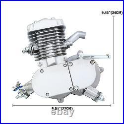 80cc Full Set Bike Bicycle Motorized 2 Stroke Petrol Gas Motor Engine Kit Set