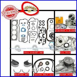87-91 Toyota Camry Celica 2.0l 3sfe Dohc Full Master Engine Rebuild Kit