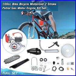 ANBULL Full Set 100cc Bicycle Engine 2-Stroke Motorized Motor Bike Modified Set