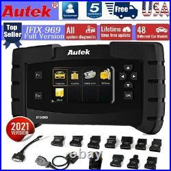 AUTEK IFIX-969 ECU programming Full System Engine Diagnostic ABS EPB DPF Scanner