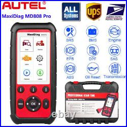 Autel MaxiDiag MD808 Pro Full System OBD2 Auto Diagnostic Tool Engine Oil Reset