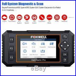 Auto Full Systems Engine Transmission EPB Oil Reset OBD2 Car Diagnostic Tool
