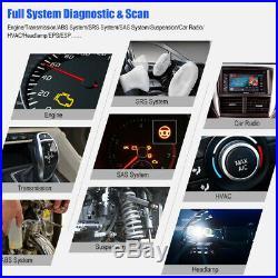 Automotive Full System OBD2 Engine Diagnostic Tool SAS ABS Oil Reset EPB Scanner