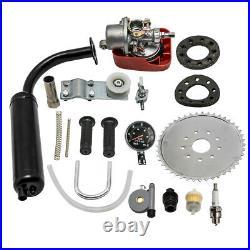 Bicycle Bike Motorized 100CC 2-Stroke Petrol Gas Engine Motor Kit Full Set
