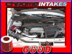 Black Red 05 06 07 08-10 Chevy Cobalt Base/ls/lt/xfe 2.2 2.2l I4 Full Air Intake