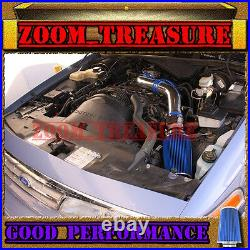 Blue 1992-1995 Ford Crown Victoria/lincoln Town Car/mercury Full Air Intake Kit