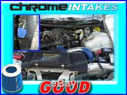 Blue 98-02 Chevy Camaro/pontiac Firebird 3.8 3.8l V6 Full Cold Air Intake Kit
