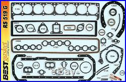 Buick 320 Full Engine Gasket Set/Kit BEST 36-52 Cylinder Head+Manifold+Oil Pan