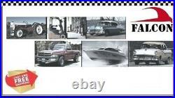 Cadillac 331 V8 Full Engine Gasket Set 1949-55 Head+Intake+Exhaust+Oil Pan+++