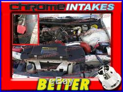 Cf Red 98-02 Chevy Camaro/pontiac Firebird 3.8 3.8l V6 Full Cold Air Intake Kit
