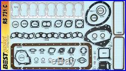Chrysler 323 Flathead Full Engine Gasket Set/Kit BEST Copper Head+Intake 1946-50