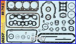 Chrysler 331 HEMI Full Engine Gasket Set/Kit BEST Head+Intake+Exhaust 1955