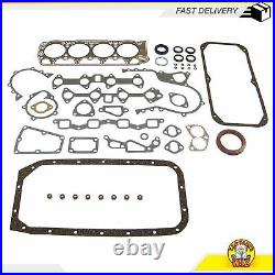 Engine Full Gasket Set Bearings Rings Fits 72-79 Toyota Corolla 1.6L OHV 2T 2TC