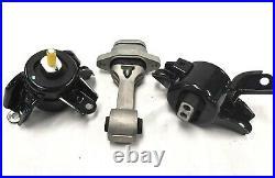 Engine & Trans Mount Full Kit For Hyundai Accent Elantra Kia Forte Rio 3PC