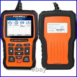 FOR BMW MINI OBD2 Scanner Code Reader Full System ABS SRS Engine Foxwell NT510