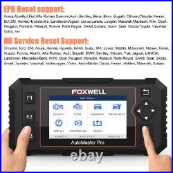 FOXWELL Full OBDII ABS SRS AT Engine EPB Oil Reset Scanner Car Diagnostic Tool