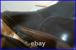 FRYE Mens Wilson Chelsea Engineer Boots full grain Leather NIB 9.5 M $360 Black