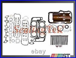 Fit 05-13 Dodge Jeep 3.7L Engine Full Gasket Set with Head Bolts Power-Tech motor