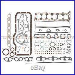 Fits 86-92 Toyota Supra Cressida 3.0L Full Gaskets Engine Bearings Ring Kit 7MGE