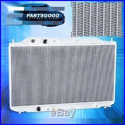 For 06-11 Honda Civic Performance Dual Core 2-Row Engine Cooling Racing Radiator