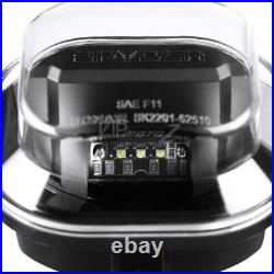 For 11-16 Ford F250 F350 F450 SD SuperDuty Black Full LED SMD CREE Fog Light Set
