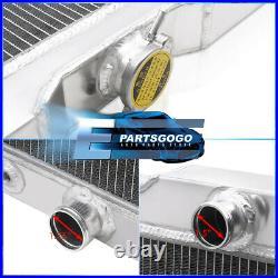 For 63-68 Chevy Impala V8 3 Row Aluminum Performance Engine Cooling Radiator