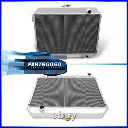 For 68-73 Dodge Coronet Charger Satellite 6.3L-7.2L Tri Core Aluminum Radiator