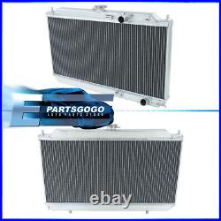 For 90-93 Acura Integra DA 2 Row Full Aluminum Engine Cooling Radiator Assembly